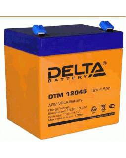 Аккумулятор DELTA 12В 4.5 Ач (DTM 12045)