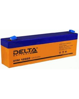 Аккумулятор DELTA 12В 2,2 Ач (DTM 12022)