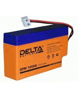 Аккумулятор DELTA 12В 0,8 Ач (DTM 12008)