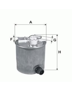 Фильтр топливный Filtron PP 857/3