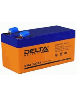 Аккумулятор DELTA 12В 1,2 Ач (DTM 12012)