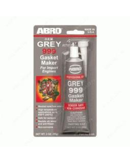 Герметик прокладка ABRO серый 85 гр