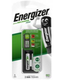 Зарядное устройство Energizer Charger Mini 700 для аккум.батареек типа АА-ААА