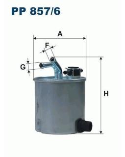 Фильтр топливный Filtron PP 857/6