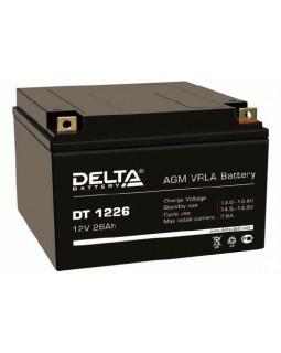 Аккумулятор DELTA 12В 26 Ач (DT 1226)
