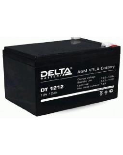 Аккумулятор DELTA 12В 12 Ач (DT 1212)