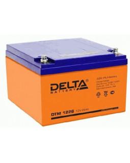 Аккумулятор DELTA 12В 26 Ач (DTM 1226)
