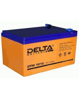 Аккумулятор DELTA 12В 12 Ач (DTM 1212)