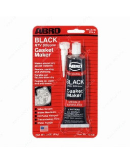 Герметик прокладка ABRO черный 85 гр