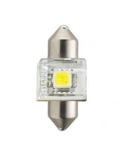 LED Автолампа C5W (T14x30) 12V Philips X-treme Vision 6000K светодиодная
