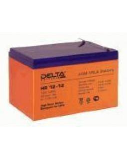 Аккумулятор DELTA 12В 12 Ач (HR 12-12)