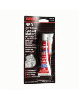 Герметик прокладка ABRO красный 32 гр