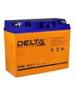Аккумулятор DELTA 12В 17 Ач (DTM 1217)