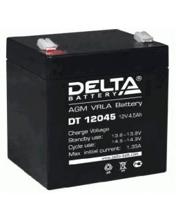 Аккумулятор DELTA 12В 4.5 Ач (DT 12045)