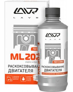 Антикокс, раскоксовывание двигателя LAVR 330мл LN2504 + шприц