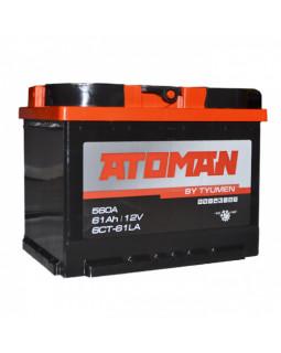 Аккумулятор 61 Ач ATOMAN о/п