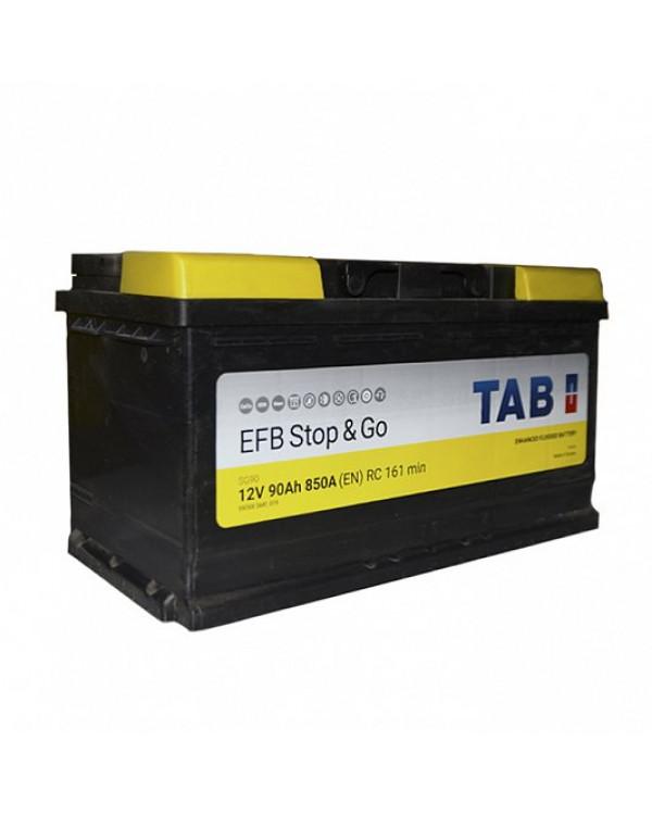 Аккумулятор 90 Ач Tab Magic Stop Go EFB о/п