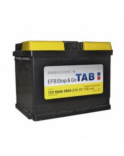 Аккумулятор 60 Ач TAB MAGIC EFB STOP&GO о/п