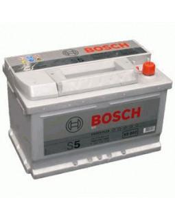 Аккумуляторная батарея 74 Ач Bosch S5 о/п (0 092 S50 070) низкий