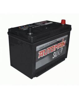 Аккумуляторная батарея 90 Ач AUTOMAN Азия Silver о/п (105D31L)