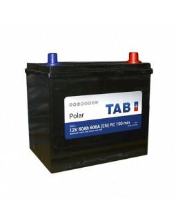 Аккумулятор 60 Ач Tab Polar S (70D23L) о/п Азия (246861)