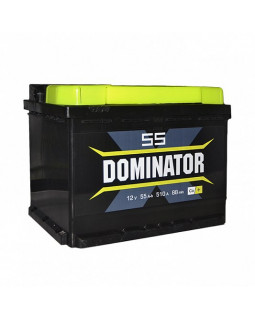 Аккумулятор 55 Ач Dominator п/п