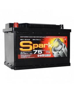 Аккумуляторная батарея 75 Ач Spark п/п