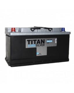 Аккумулятор 110 Ач Титан Euro Silver п/п