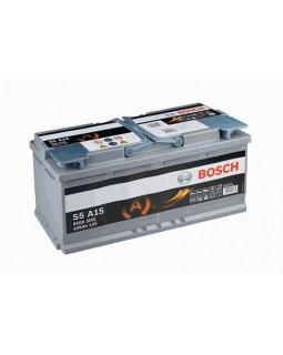 Аккумуляторная батарея 105 Ач Bosch S5 (S5A150) о/п AGM (Старт - стоп)