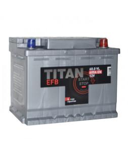 Аккумулятор 60 Ач Титан EFB о/п