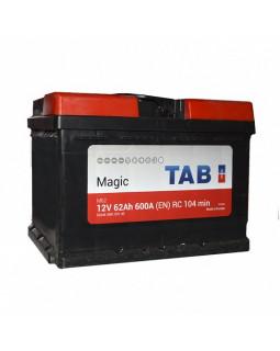 Аккумулятор 62 Ач Tab Magic о/п (189063)