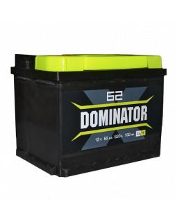 Аккумулятор 62 Ач Dominator о/п