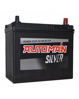 Аккумуляторная батарея 58 Ач AUTOMAN Азия Silver о/п (75B24L)