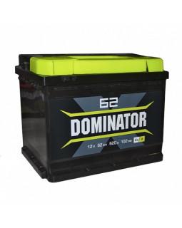 Аккумулятор 62 Ач Dominator п/п