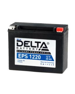 Мото аккумулятор DELTA 12В 20Ач (YTX24HL-BS, YTX24HL) о/п