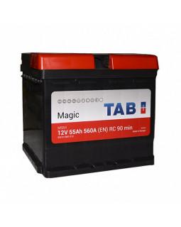 Аккумулятор 55 Ач TAB magic (Кубик) о/п