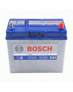 Аккумуляторная батарея 45 Ач Bosch S4 (55B24L) о/п (0 092 S40 200) тонк.кл.