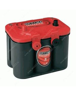 Аккумулятор 50 Aч Optima Red top (RTU-4,2L) п/п 815А 4-кл.