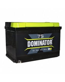 Аккумулятор 75 Ач Dominator о/п