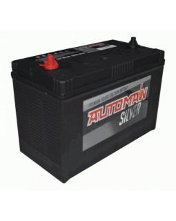 Аккумуляторная батарея 120 Ач AUTOMAN Silver (31-1000T) клемма-винт (1000А д*ш*в 33.0*17.2*24.0 см)