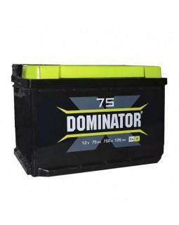Аккумулятор 75 Ач Dominator п/п