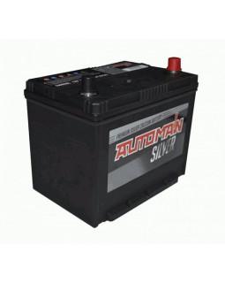 Аккумуляторная батарея 85 Ач AUTOMAN Азия Silver о/п (105D26L)