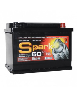 Аккумулятор 60 Ач Spark о/п