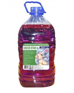 """Летняя стеклоомывающая жидкость Green Star """"Bubble Gum"""" 4л"""