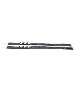 Антистатик-заземлитель с метал.сердечником Светофор силиконовый, черный, нержавейка 52см 40659