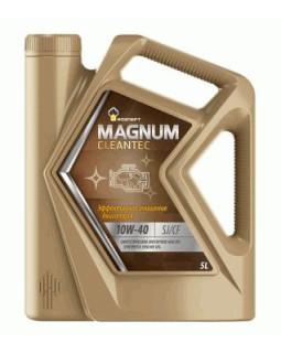 Масло моторное Rosneft Magnum Cleantec 10W40 синтетическое 5л