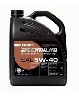 Масло моторное Suprotec Atomium 5W40 синтетическое 4л