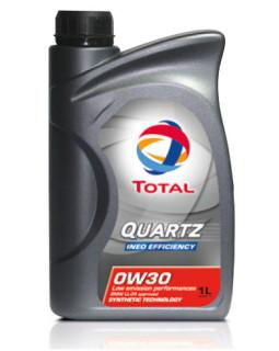 Масло моторное Total Quartz Ineo EFFICIENCY 0W30 синтетическое 1л