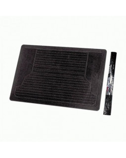 Коврик в багажник 140*108см Autoprofi ПВХ черный MAT351 BK