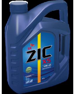 Масло моторное ZIC X5 Diesel SAE 10W40 (п/с, дизельное) 4л